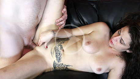 Manuela Gets Her Pussy Drilled By A Huge Cock